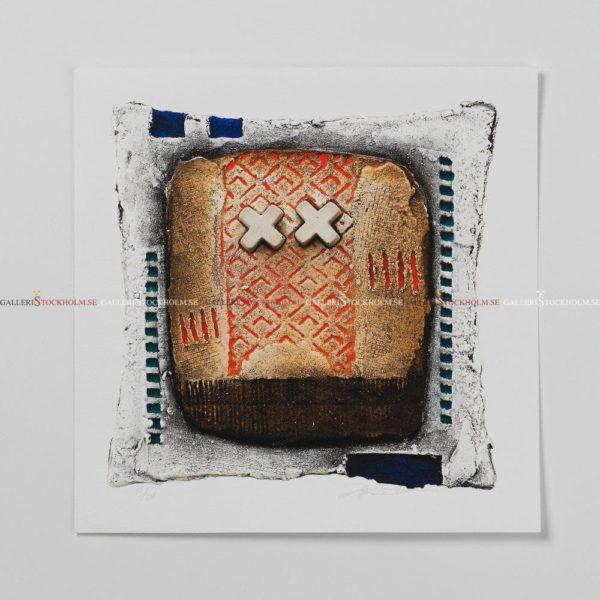 Jens Hübner - Litografi - New Screen Please