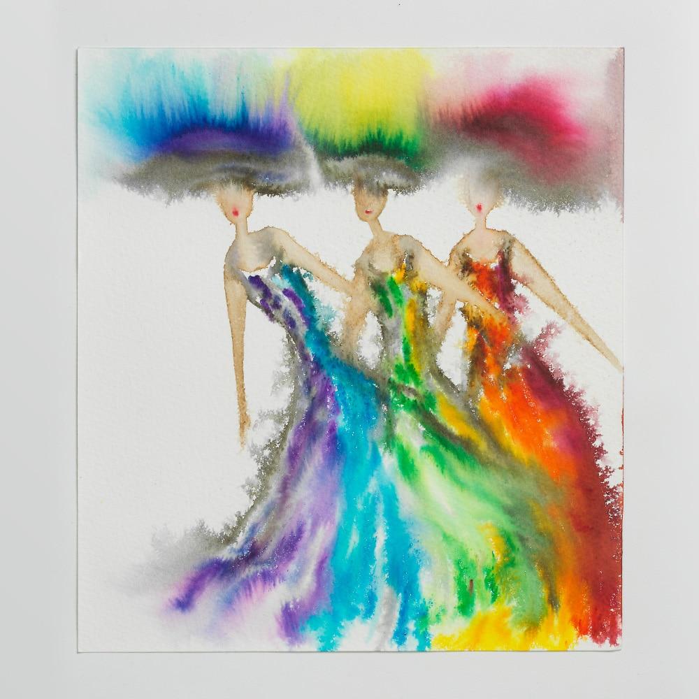 Sara Flodén - Akvarell - Amor III