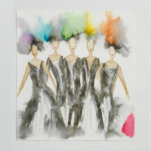 Sara Flodén - Akvarell - Amor V