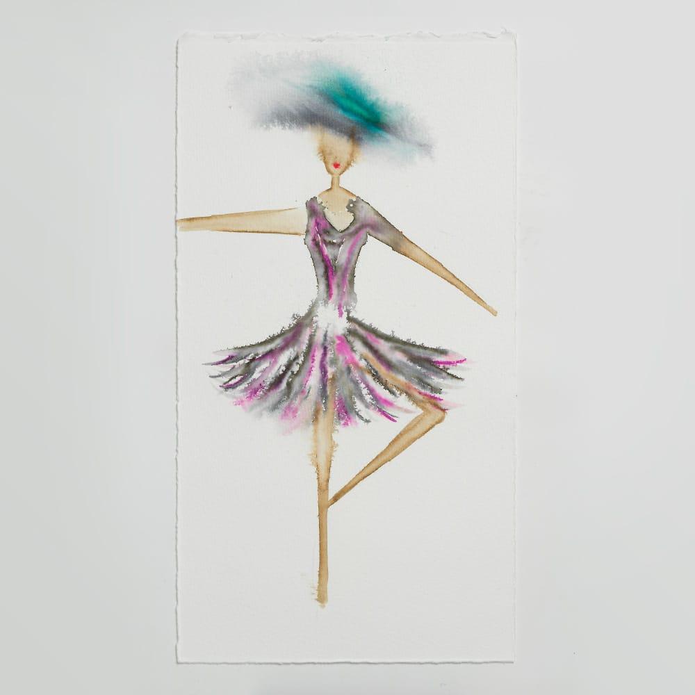 Sara Flodén - Akvarell - Zita