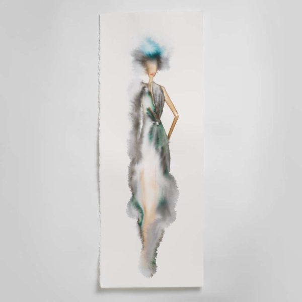 Sara Flodén - Akvarell - Ventura