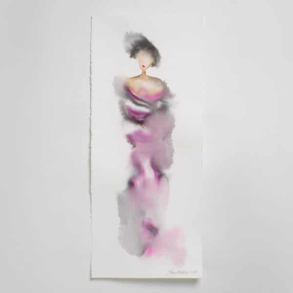 Sara Flodén - Akvarell - Alanza