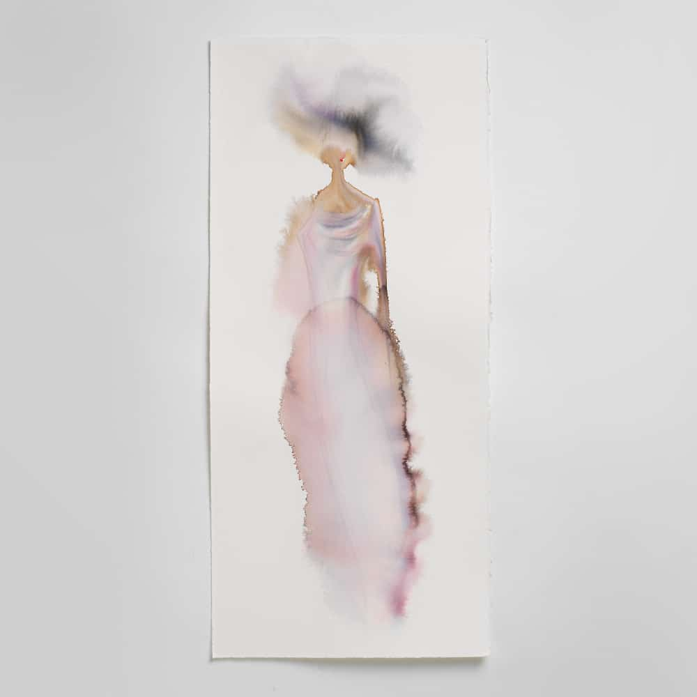Sara Flodén - Akvarell - Almira