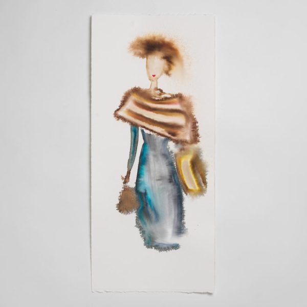 Sara Flodén - Akvarell - Valentina