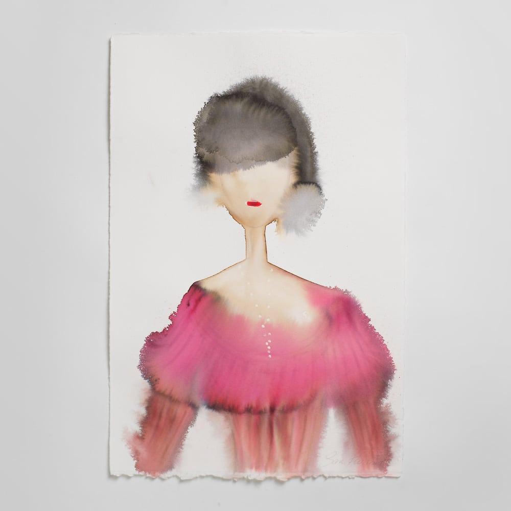 Sara Flodén - Akvarell - Usoa