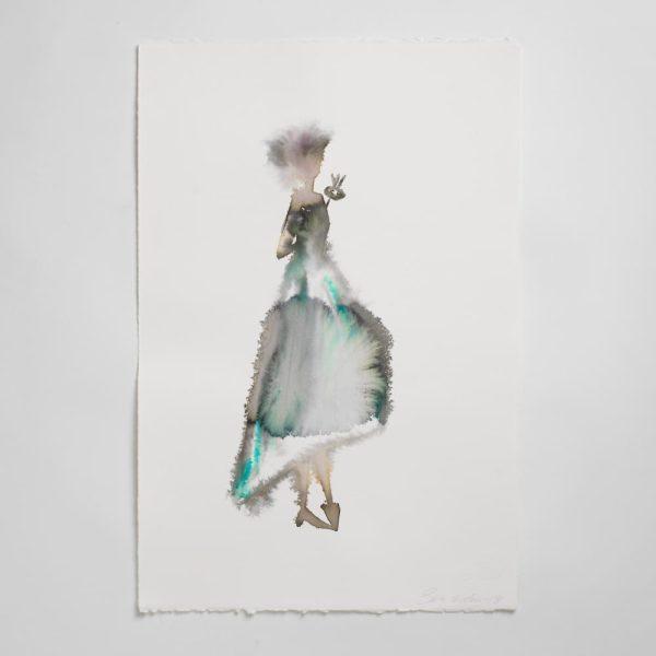 Sara Flodén - Akvarell - Ursulina