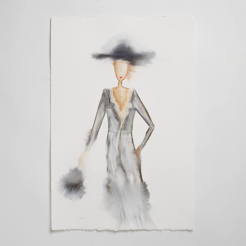 Sara Flodén - Akvarell - Amata