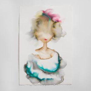 Sara Flodén - Akvarell - Teresita