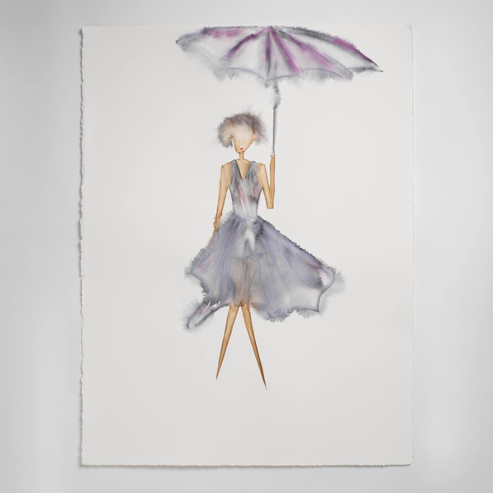Sara Flodén - Akvarell - Sofia