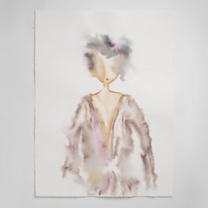 Sara Flodén - Akvarell - Simona