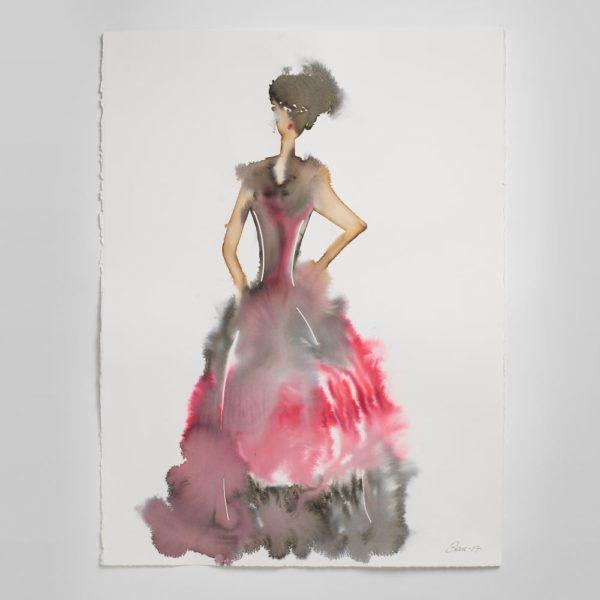 Sara Flodén - Akvarell - Socorro