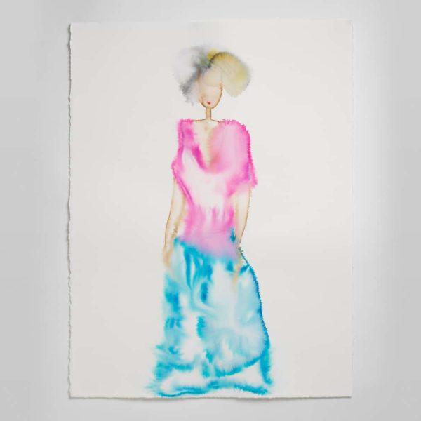 Sara Flodén - Akvarell - Adriana