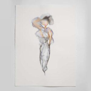 Sara Flodén - Akvarell - Aida