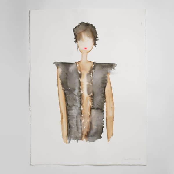 Sara Flodén - Akvarell - Abril