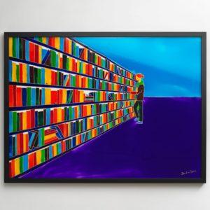 Sandra Steen - Biblioteket
