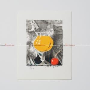 Bo Erik Lundqvist - Litografi - Screwdriver