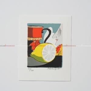 Bo Erik Lundqvist - Litografi - Lemonade