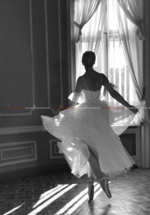 Dmitry Savchenko - Ballerina. Contre-jour