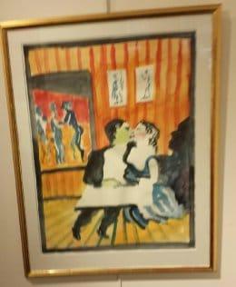 Peter Dahl - Oljemålning - Akvarell