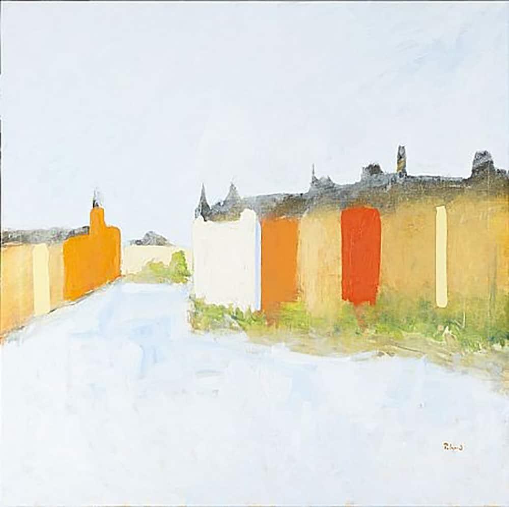 Anders Palmér - Oljemålning - Stockholmsmotiv