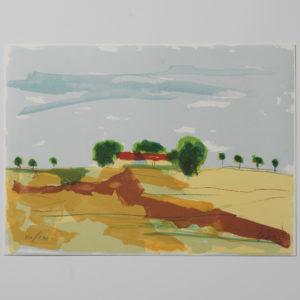 ANDERS PALMÉR - LITOGRAFI - HUSET