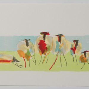 Anders Palmér - Resting Sheep