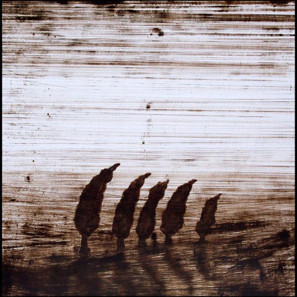 Andrej Zverev – Oljemålning