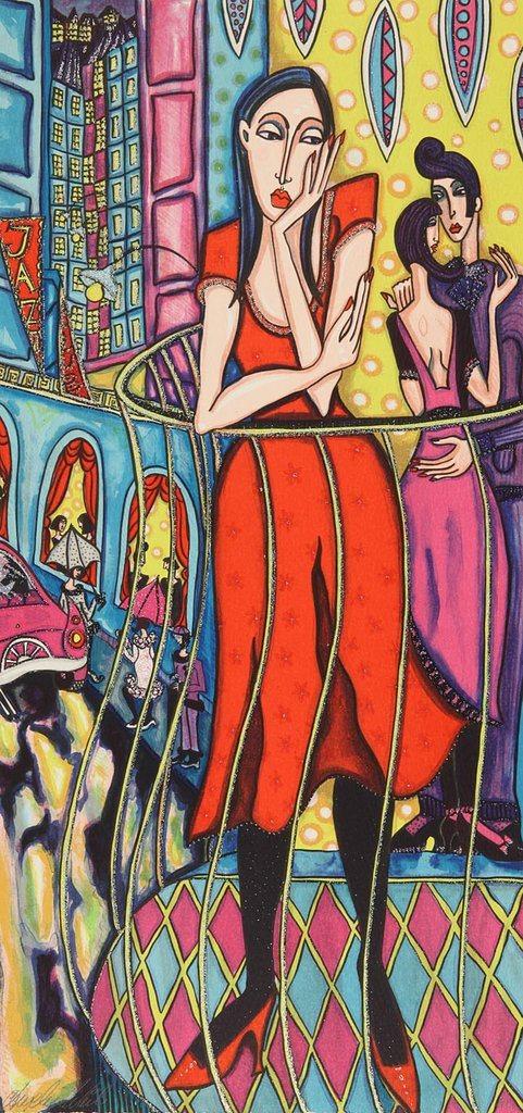 Angelica Wiik - Längtans balkong