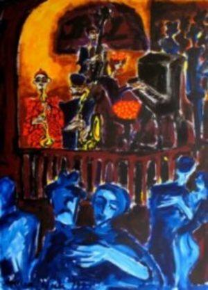 Oljemålning av Angelica Wiik köpa konst.