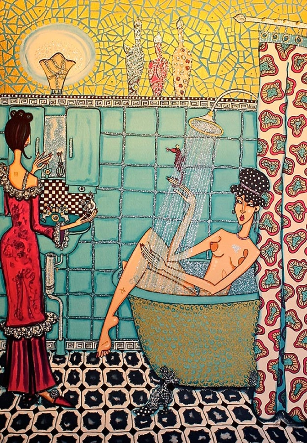 Angelica Wiik - Susanna i badet