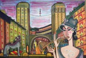 Angelica Wiik - Två torn
