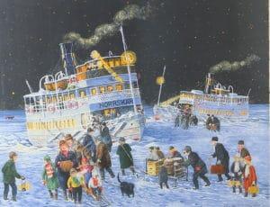 Bert Håge Häverö - Ångbåtar under stjärnhimmel