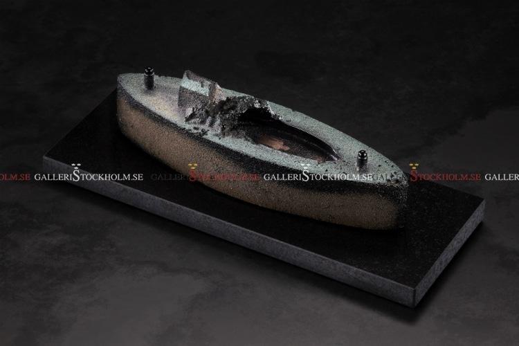 BERTIL VALLIEN - LIMITERAT - BOAT - BLACK SHIP
