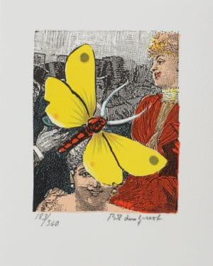 Bo Erik Lundqvist - Yellow Dragonfly