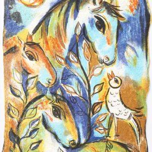 Dagmar Glemme - Hästar