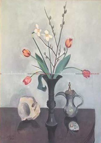 Einar Jolin - Blomsterstilleben