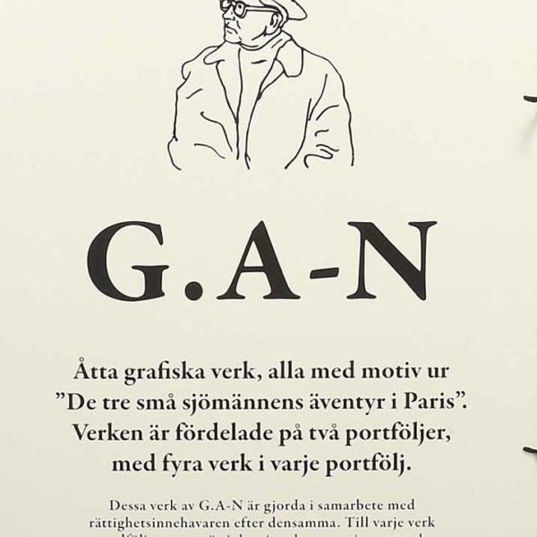 GAN (Gösta Adrian Nilsson) Vita mappen