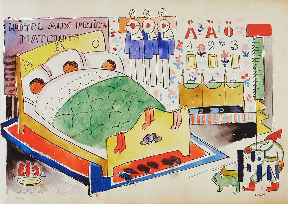GAN (Gösta Adrian Nilsson) Vita mappen motiv 4