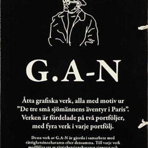Gösta Adrian Nilsson - Svarta mappen