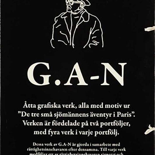 GAN (GÖSTA ADRIAN NILSSON) - SVARTA MAPPEN