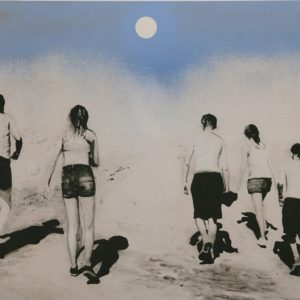 Joakim Allgulander - Litografi - Moonwalkers