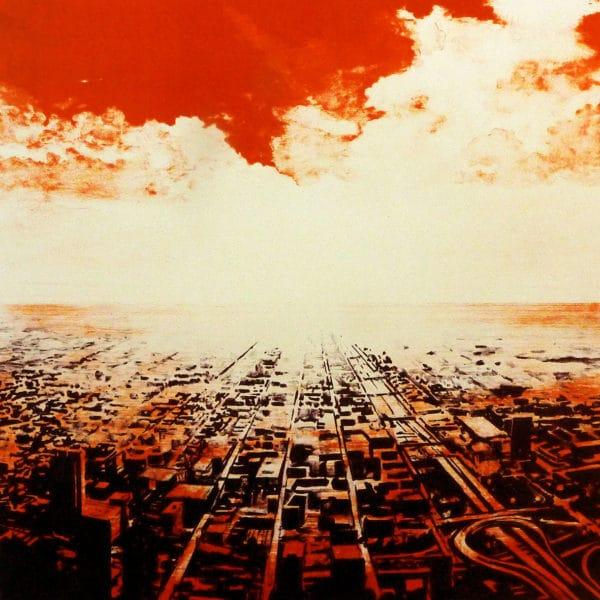 Joakim Allgulander - Litografi - Red Scape