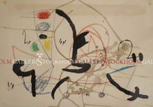 OAN MIRÓ - LITOGRAFI NR 25/75