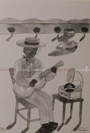 Jonas Fredén - Blues Down South