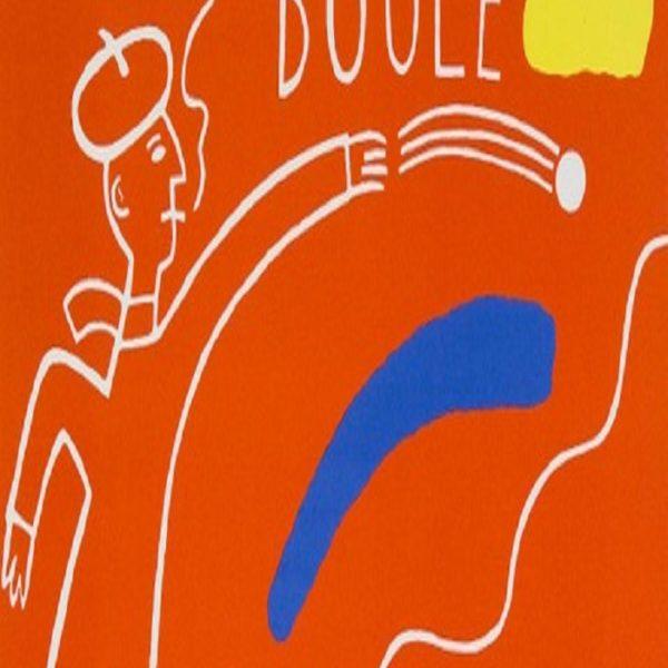 Jonas Fredén - Litografi - Boule