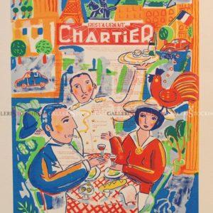 Jonas Fredén - Litografi - Chartier