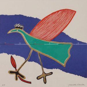 Jeanette Karsten - Blue Green Bird
