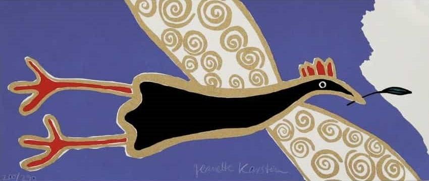 Jeanette Karsten - Black Bird Flying