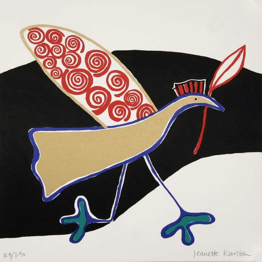 Jeanette Karsten - Golden Bird