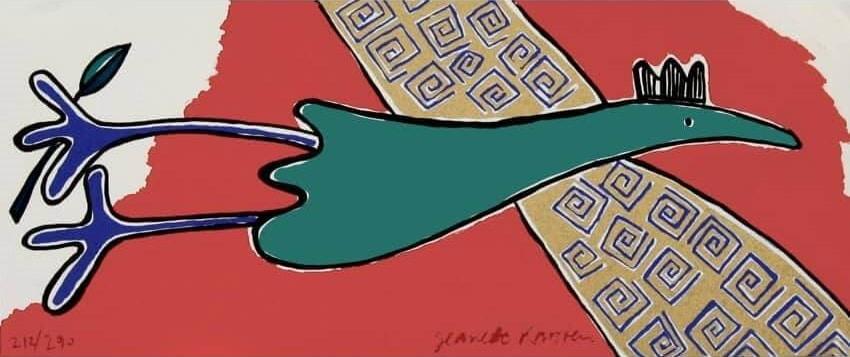 Jeanette Karsten - Green Bird Flying